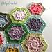 Wind Flower Hexagon pattern