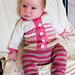 Curious Baby Zig Zag Cardigan pattern