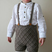 Cabled shorts / Flettverkshorts pattern
