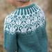 Lotusblomstgenser / Lotus flower sweater pattern
