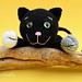 Black Cat Amigurumi Kitten Toy Halloween pattern