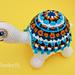 Magic Mandala Tortoise Turtle pattern