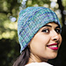 A Seeded Path Hat pattern