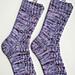 Nestled Socks pattern