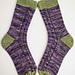Huggle Socks pattern