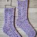 Trouvaille Socks pattern