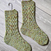 Autumn Bark Socks pattern