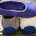 Duffers, 19 Row Felted Slippers pattern