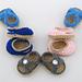 """Summer Sandal Pack 2 - 18"""" American Girl Doll Shoe pattern"""