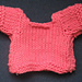 T-shirt for 23 cm toy pattern