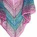 Dragonfly Amber Shawl pattern