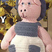 Granny Pig Crochet Doll pattern