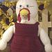Granny Chicken Crochet Doll pattern