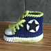 Miss Jinty's Baby High Tops pattern