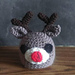 Rudolph Chocolate Orange Cover pattern