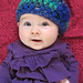 Baby Bobblehead Beret pattern
