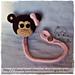 Monkey Pacifier Holder pattern