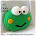 Keroppi the Frog Pillow pattern