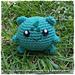 Chibi Bulbasaur  (pokemon) pattern