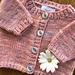 New Baby Cardigan pattern