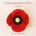 Remembrance Day Poppy pattern