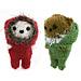 Bundle-up Bears pattern