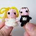 Tiny Bride and Tiny Groom pattern