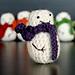 Mini Crochet Snowman pattern