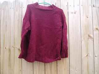 Rosemary's Big Sweater
