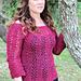 Sabre Sweater pattern