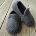 Men's Loafer Slippers Felted pattern