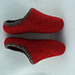 Women's Scuff Felted Slippers pattern