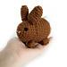 Benny the Bitty Bunny pattern