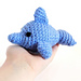 Tiny Finley the Dolphin pattern