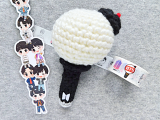 Ravelry Bts Army Bomb Fan Stick Plush Pattern By Mooeyandfriends