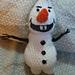 Olaf from frozen pattern
