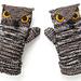 Owl Mittens pattern