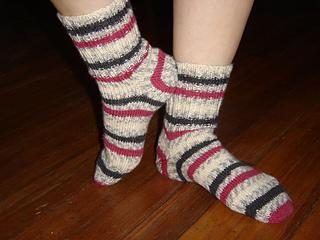 Olympic Gold Socks