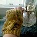 Take a Bow Fingerless Mittens pattern