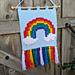 Rainbow Puff Wall Hanging pattern