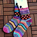Creativity booster socks pattern