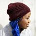 Vertizontal Slouch Hat pattern