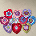 Sunburst Granny Hearts pattern