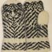 Hvit Tiger pattern