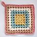 Squared Waffle pattern