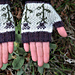Thistle Handwarmers pattern