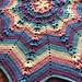 Spring Star Blanket pattern
