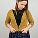 Rhea VNeck Cardigan pattern