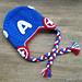 Captain America Beanie pattern