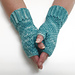 Winter Lace Mitts pattern